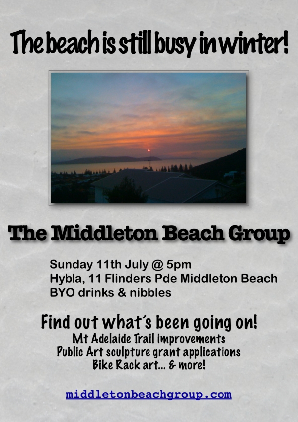 July MBG meeting poster