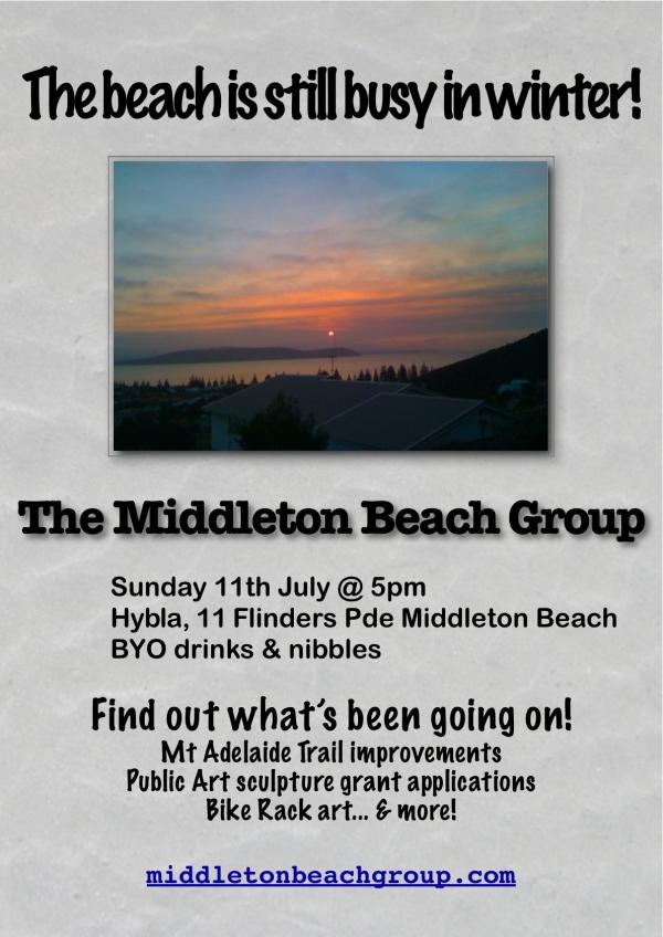 July MBG meeting poster