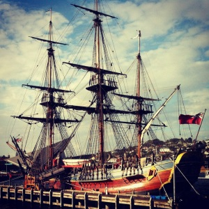 The Endeavour at Albany Port