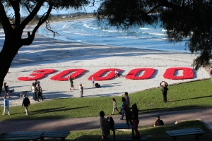Poppies in the Sand A significant community commemoration